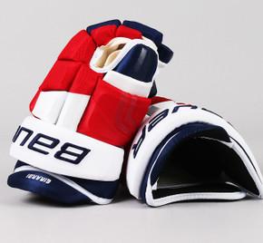 "15"" Easton 4 Roll Pro WIDE Gloves - Dan Girardi New York Rangers"