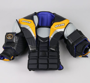 XL - Brown Elite JB2200 Chest & Arms Protector - Team Stock #2