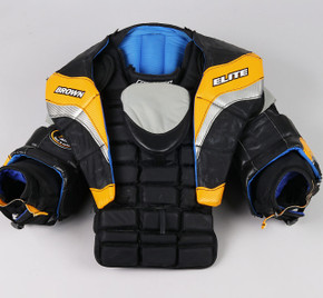 XL - Brown Elite JB2200 Chest & Arms Protector - Team Stock #3