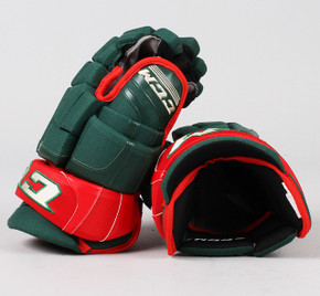 "13"" CCM HGCLPX Gloves - Team Stock Minnesota Wild"