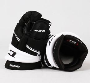 "13"" CCM HGQL Gloves - Team Stock Pittsburgh Penguins"