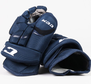 "13"" CCM HG12 Gloves - Team Stock Manitoba Moose"