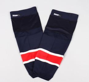Game Sock - New York Rangers - Navy Blue Reebok Size XL