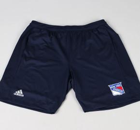 New York Rangers XX-Large Adidas Workout Shorts