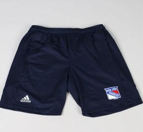 New York Rangers X-Large Adidas Workout Shorts