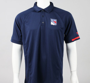 New York Rangers Large Short Sleeve Polo