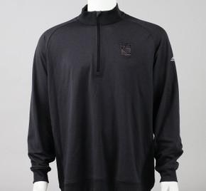 New York Rangers X-Large Long Sleeve Quarter Zip Shirt