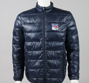 New York Rangers Large Full Zip Puffer Jacket