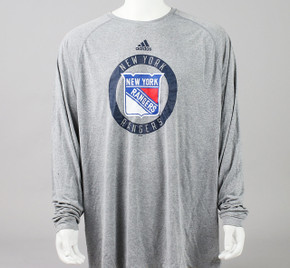 New York Rangers XXX-Large Climalite Long Sleeve Shirt