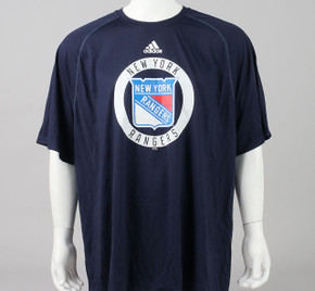 New York Rangers XXX-Large Climalite Short Sleeve Shirt #2