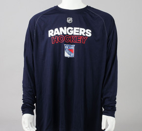 New York Rangers XXX-Large Climalite Long Sleeve Shirt #2