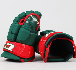 "13"" CCM HGCL Gloves - Team Stock Minnesota Wild"