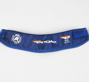 Large Royal Blue Eagle Neck Guard