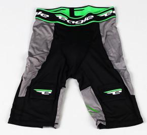 Large Black Eagle Jock Compression Shorts