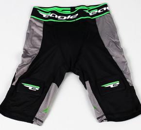 Medium Black Eagle Jock Compression Shorts