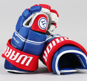"""13"""" Warrior Covert QRE Gloves - Team Stock Montreal Canadiens #3"""