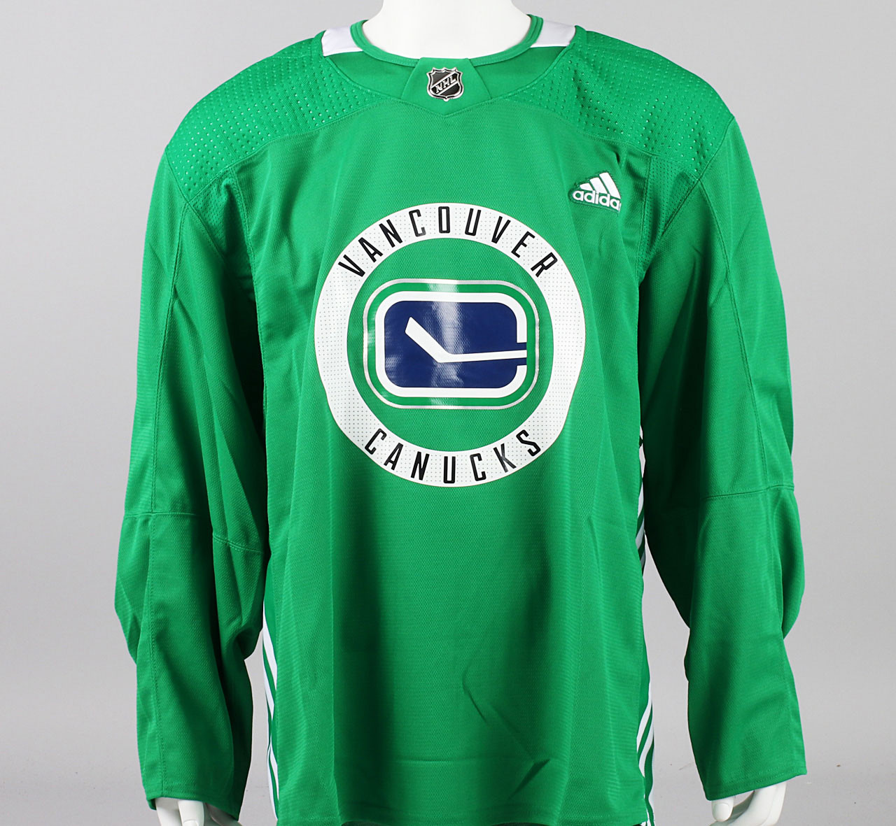 Practice Jersey - Vancouver Canucks - Green Adidas Size 58 - Pro ...