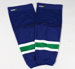 Game Sock - Vancouver Canucks - Blue Reebok Size XL+