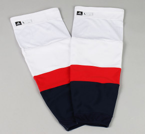 Game Sock - Washington Capitals - White Adidas Size L