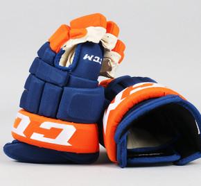 "13"" CCM HG97XP Gloves - Team Stock Bridgeport Sound Tigers"
