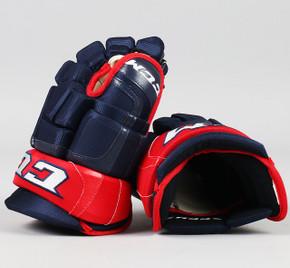 "13"" CCM HGCLPR Gloves - Team Stock Columbus Blue Jackets"