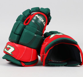 "13"" CCM HGCLPR Gloves - Team Stock Minnesota Wild"