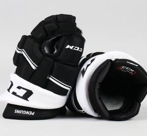 "13"" CCM HGQLPP Gloves - Team Stock Pittsburgh Penguins"