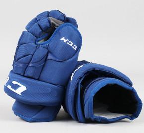"""13"""" CCM HG12 Gloves - Team Stock Vancouver Canucks"""