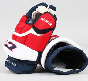 "13"" CCM HG12 Gloves - Chandler Stephenson Washington Capitals #2"
