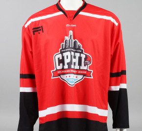 Large Red 2019 Chicago Pro Hockey League Jersey