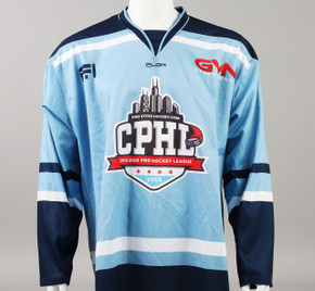 X-Large Baby Blue 2019 Chicago Pro Hockey League Jersey