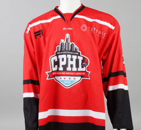 X-Large Red 2019 Chicago Pro Hockey League Jersey - Austin Farley
