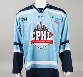 X-Large Baby Blue 2019 Chicago Pro Hockey League Jersey - Ryan Dzingel