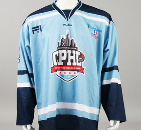 X-Large Baby Blue 2019 Chicago Pro Hockey League Jersey - Cole Coskey