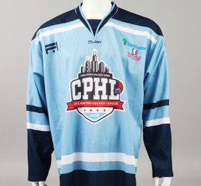 X-Large Baby Blue 2019 Chicago Pro Hockey League Jersey - Joey Keane