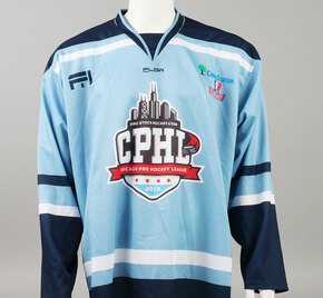 X-Large Baby Blue 2019 Chicago Pro Hockey League Jersey - Chris Joyaux