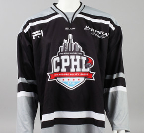 X-Large Black 2019 Chicago Pro Hockey League Jersey - Matt Barry