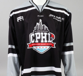 X-Large Black 2019 Chicago Pro Hockey League Jersey - Sam Povorozniouk
