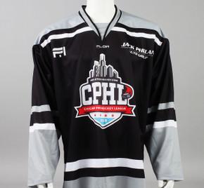 X-Large Black 2019 Chicago Pro Hockey League Jersey - Christian Dvorak