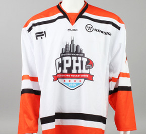 X-Large Orange 2019 Chicago Pro Hockey League Jersey - Brennan Kapcheck
