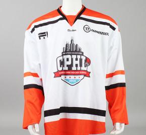 X-Large Orange 2019 Chicago Pro Hockey League Jersey - Nick Schilkey