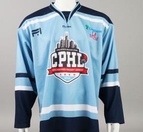 X-Large Baby Blue 2019 Chicago Pro Hockey League Jersey - Joe Widmar