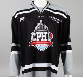 X-Large Black 2019 Chicago Pro Hockey League Jersey - Jake McLaughlin