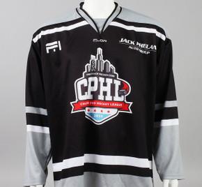 X-Large Black 2019 Chicago Pro Hockey League Jersey - Ivan Chukarov