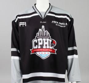 X-Large Black 2019 Chicago Pro Hockey League Jersey - Jack Drury