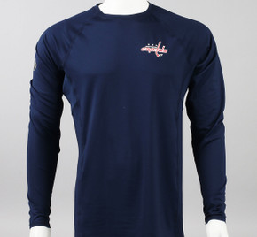 Washington Capitals Large Athletic Fit Long Sleeve Shirt