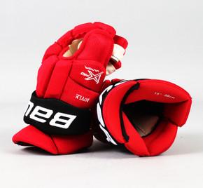 """15"""" Bauer Vapor 1X Pro Gloves - Brian Boyle New Jersey Devils"""