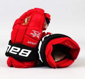 "14"" Bauer Vapor 1X Pro Gloves - Ben Lovejoy New Jersey Devils #2"
