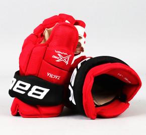 "14"" Bauer Vapor 1X Pro Gloves - Pavel Zacha New Jersey Devils #2"