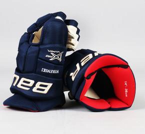 """14"""" Bauer Vapor 1X Pro Gloves - Zach Werenski Columbus Blue Jackets #2"""